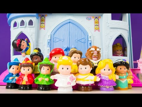 Little People Disney Princess Songs Cinderella Castle Play Set By Fisher-Price