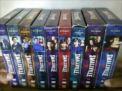 SMALLVILLE SEASON BOX SETS OVERVIEW