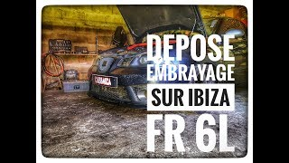 Vlog#6 DÉMONTAGE BOITE ET EMBRAYAGE SEAT IBIZA FR