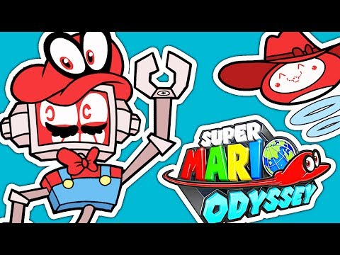 """Super Mario Odyssey """"Jump Up, Super Star!"""" COVER ► Fandroid the Musical Robot!"""