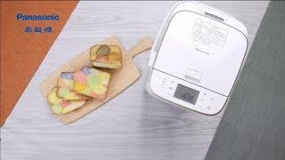 Panasonic 麵包機 SD-PM107 - 五彩方包