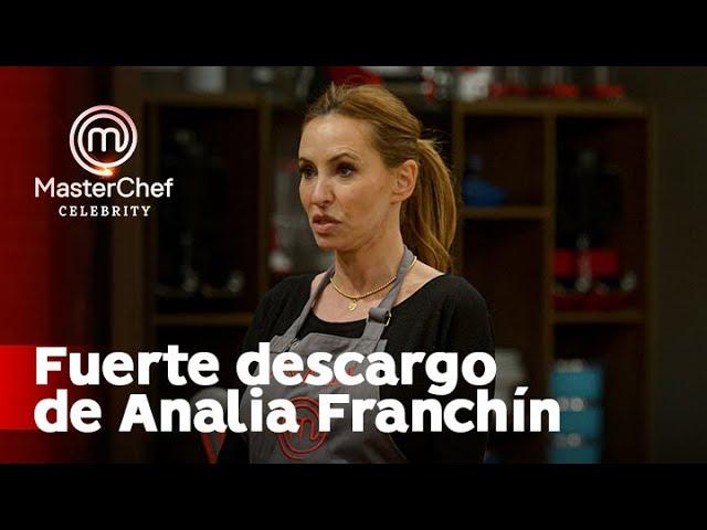 Analía Franchín disparó contra Sofía Pachano y todo se descontroló - Masterchef Argentina 2020