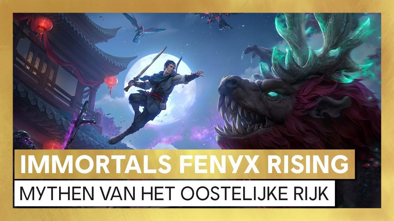 Immortals Fenyx Rising - Mythen van het Oostelijke Rijk - Launch Trailer