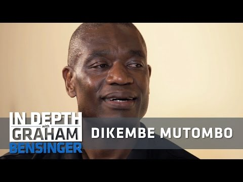 Dikembe Mutombo: People thought I was a monster