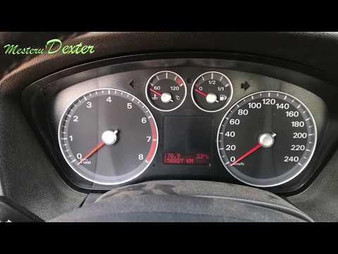 Demontare Ceasuri Bord Ford Focus 2008