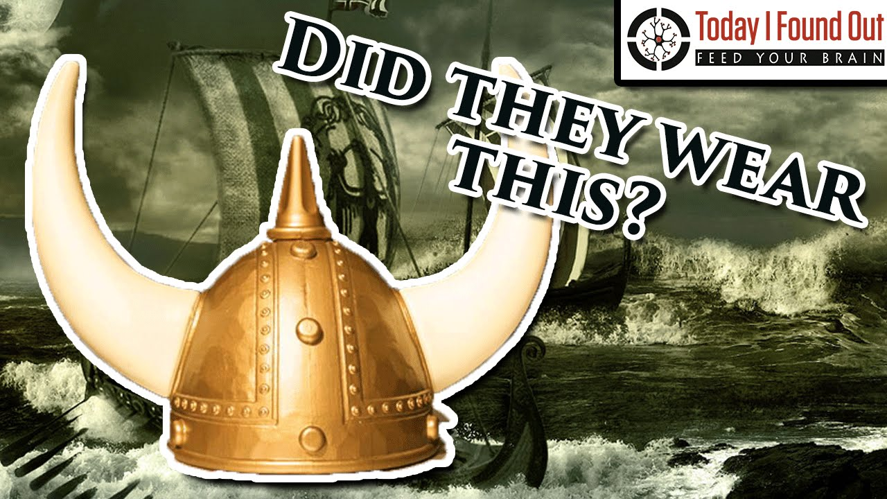 Did Vikings Really Wear Horned Helmets? - YouTube