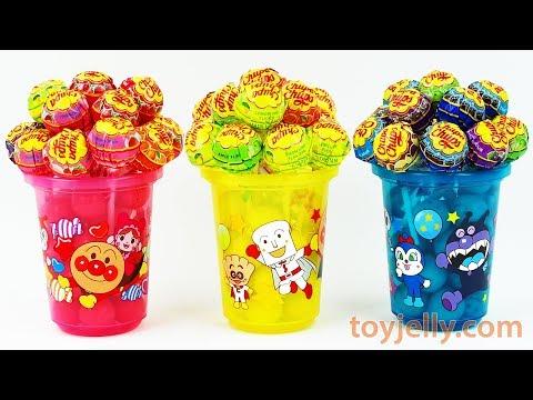 Chupa Chups Candy Surprise Anpanman Toy Cups Paw Patrol Spiderman Disney Planes Kids Kinder Joy Eggs