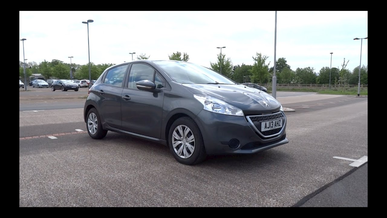 2013 peugeot 208 1 4 hdi 70 access 5 door start up and full vehicle tour youtube. Black Bedroom Furniture Sets. Home Design Ideas