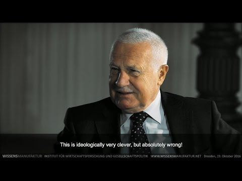 Václav Klaus: «Germany is the battlefield of Europe»