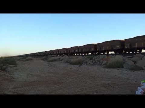 BHP iron ore train - Just how long they are