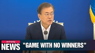 President Moon demands Japan ends 'game with no winners' amid trade dispute