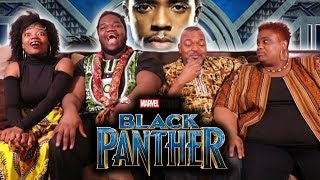 Black Panther - Review & Discussion With Family | SPOILERS!! |