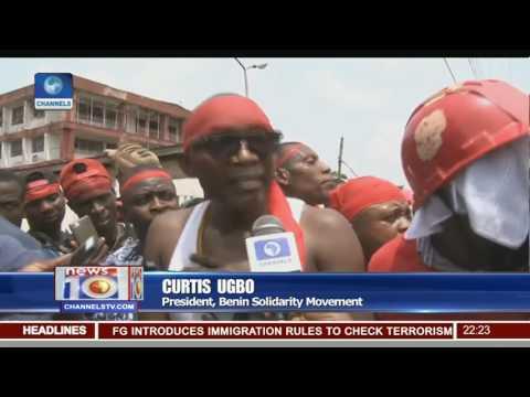 Unemployment Protest: Benin Youth Picket NPDC Over Marginalisation