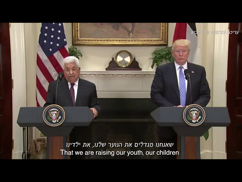 Revealing the lies Mahmoud Abbas told to president Donald Trump