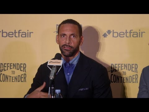 EX MAN UTD & ENGLAND FOOTBALLER RIO FERDINAND BECOMES A PROFESSIONAL BOXER - {FULL PRESS CONFERENCE}
