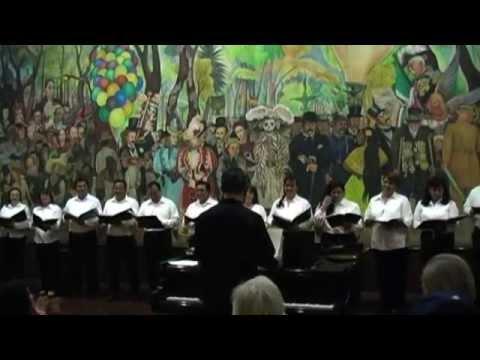 CONCIERTO DEL GRUPO CORAL HARMONNIA, MÉXICO ROMANTICO, FOLKLOR Y CANTO
