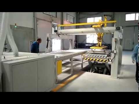 SPC Flooring Tile Grooving Cutting Machine