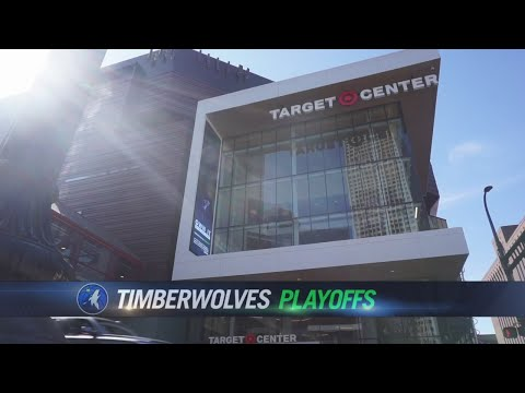 Playoff Basketball, Warm Weather Draw Fans To Downtown Minneapolis