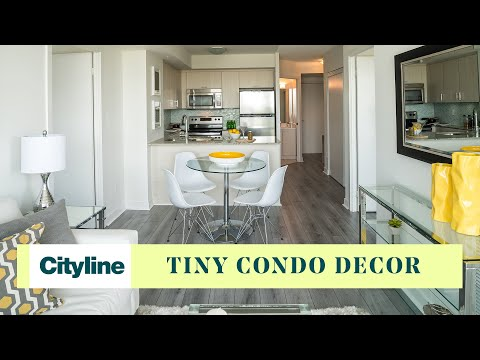 Pro furnishing and decorating tips for a tiny (464 ft.) cond