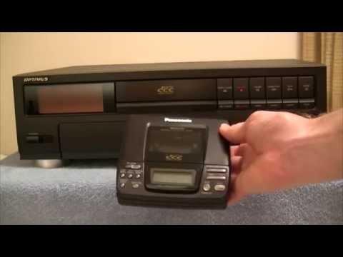 Optimus DCT-2000 Digital Compact Cassette fail