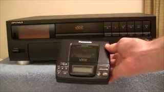 Optimus DCT-2000 Digital Compact Cassette fail
