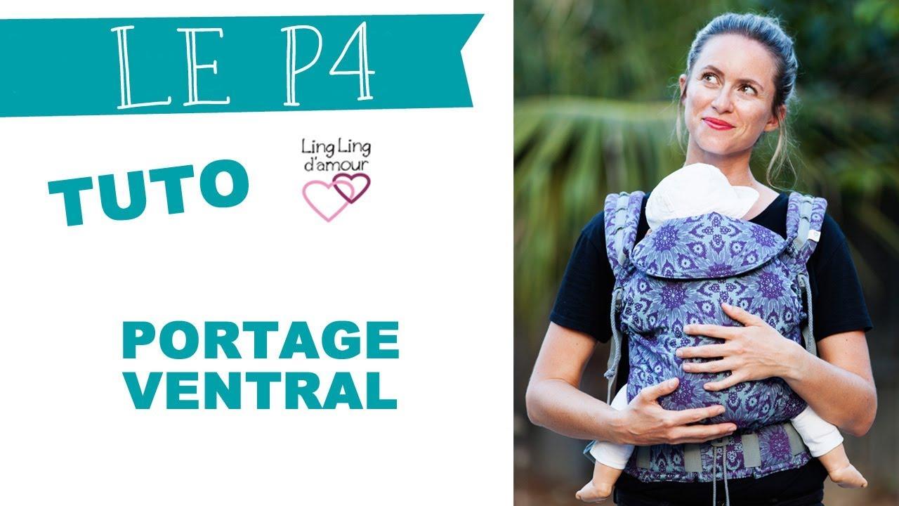 Belle P4 porte-bébé physiologique préformé évolutif mode d'emploi vidéo RI-61