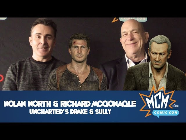Nolan North & Richard McGonagle, AKA Uncharted's Drake & Sully (Interview Two)!