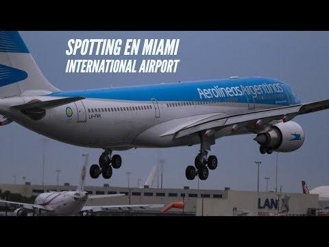 Miami international airport - spotting