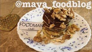 Банановые панкейки из 2-х ингредиентов: рецепт от Foodman.club