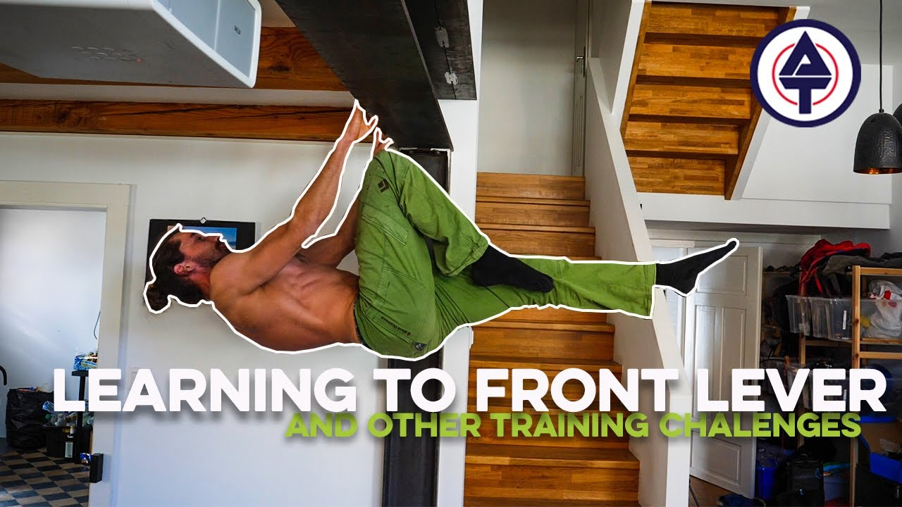 Learning How To Front Lever And Other Climbing Training Challenges | Action Talk Ep.5