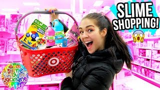 SHOPPING FOR SLIME SUPPLIES AT TARGET! 😱😱 ($343 on slime)