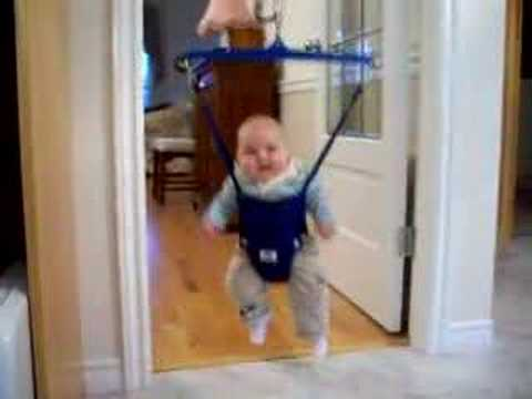 Dylan In Baby Jumper Youtube