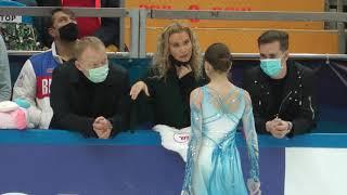Камила Валиева КП II этап кубка России Москва 10 10 2020