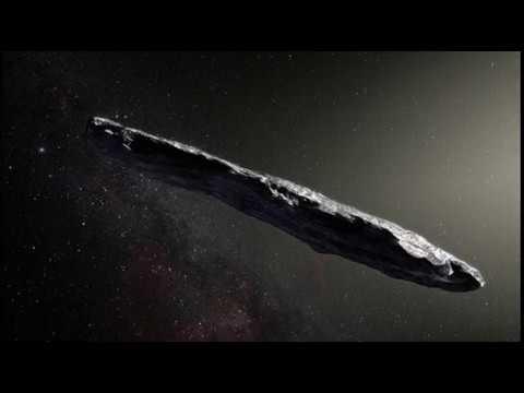 Así es el primer visitante interestelar de nuestro Sistema Solar