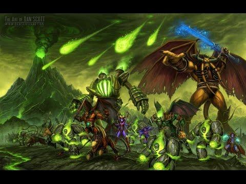 WarCraft3 закрытый бета тесть альтернативной истории варкрафт часть 1