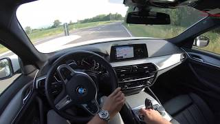 BMW 5ER (G30) 520D 190PS TEST DRIVE POV by BadenmotorsTV