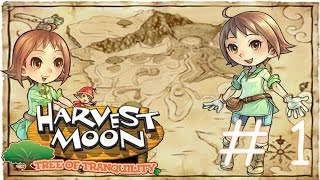 Harvest Moon Tree of Tranquility Walkthrough Part 1 - Welcome to Waffle Island