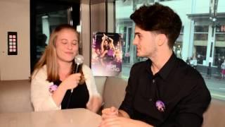 Chris Burkich Interview at High Strung Movie LA Premiere