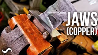 MAKING COPPER VICE JAWS!