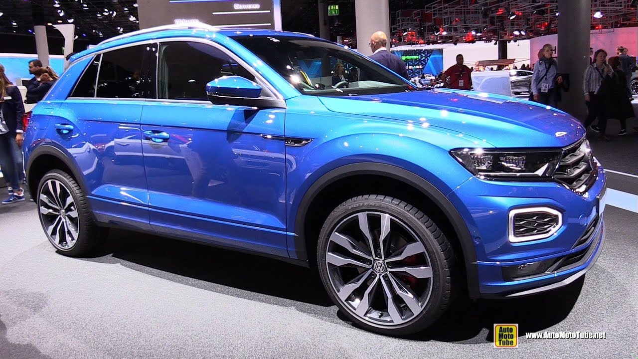 2018 volkswagen t roc r line exterior and interior walkaround debut at 2017 frankfurt auto. Black Bedroom Furniture Sets. Home Design Ideas