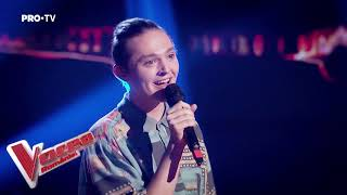 Geoerge Aghinea - Redbone | Blind Auditions | The Voice of Romania 2019