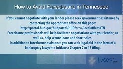 How to stop foreclosure in Tennessee