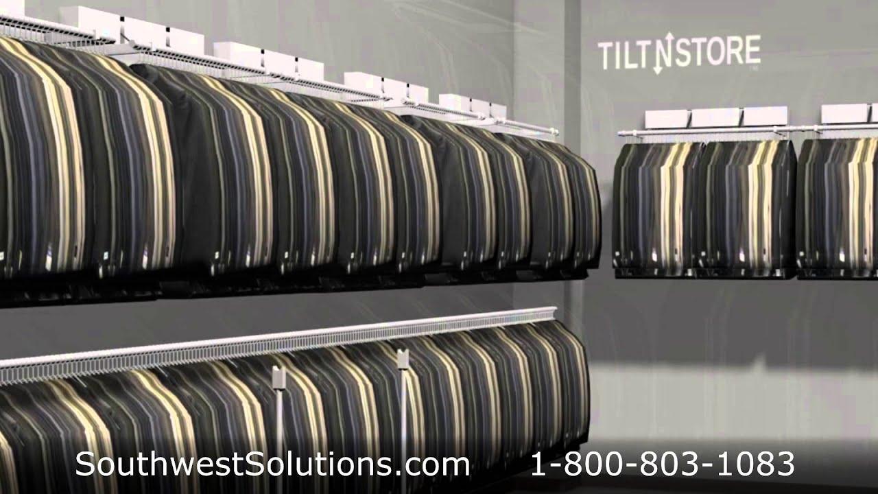 High Capacity Clothing Racks | Wall Mounted Garment ...