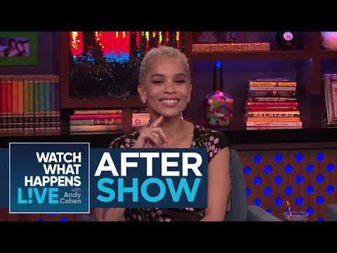 After : Zoe Kravitz Talks About Katy Perry And Taylor Swift Feud  WWHL