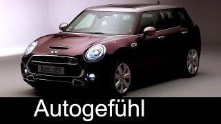 The new MINI Clubman Evolution, Exterior, Interior Preview 2016 model - Autogefühl