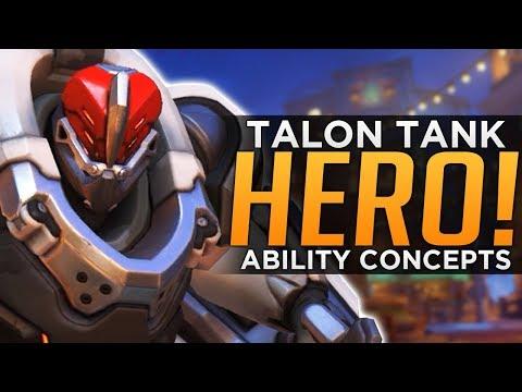 Overwatch: New Hero & Abilities Concept - Talon Tank
