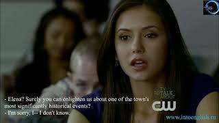 Английский по Vampire Diaries Video 11