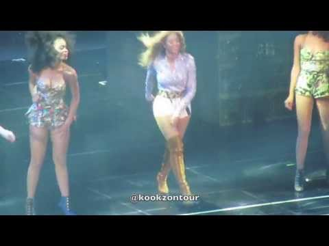 LIVE Beyonce (@Beyonce) PICKS UP WEAVE In Detroit 7/20/13