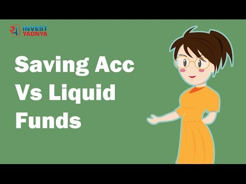 Savings account vs Liquid funds | Investment Tips by Yadnya