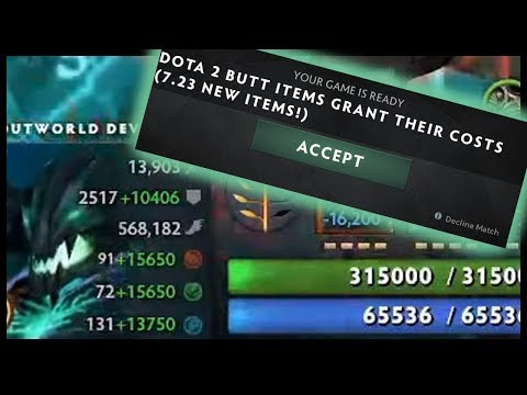 Dota 2 But Items Grant Their Costs As Values